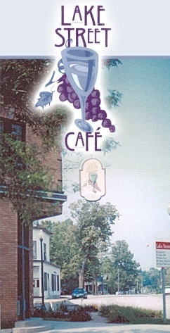 Lake, Cafe, Street