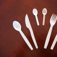 green, Biodegradable, Cutlery, Eco greenwares - biodegradable foodservice products, Compostable, Utensils
