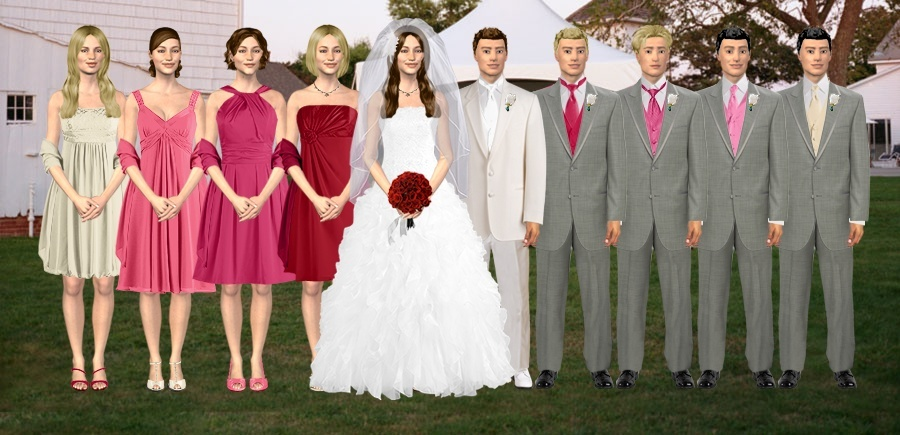 Fabulous Bridesmaid Colours With Champagne Wedding Dress What Color Dresses