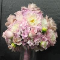 Flowers & Decor, white, pink, Bride Bouquets, Flowers, Bouquet, Bridal, Ninfas flowers gifts