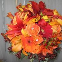 Flowers & Decor, yellow, orange, red, brown, gold, Bride Bouquets, Flowers, Bouquet, Ninfas flowers gifts