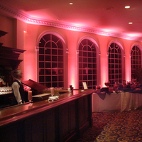 Reception, Flowers & Decor, pink, Lighting, llc, Uplighting, Ambient, Shindig lighting