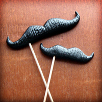 Reception, Flowers & Decor, Favors & Gifts, Entertainment, Photography, black, favor, Portrait, Booth, Photo, A, On, Stick, Mustache, Prop, Whiskerworks on etsy