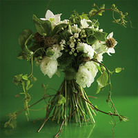 Flowers & Decor, white, ivory, green, Bride Bouquets, Flowers, Bouquet, Bridal, And, Woodsy