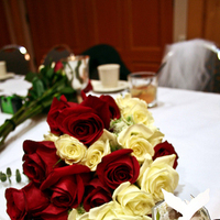 Reception, Flowers & Decor, red, Bride Bouquets, Flowers, Bouquet, llc, Photos by orion