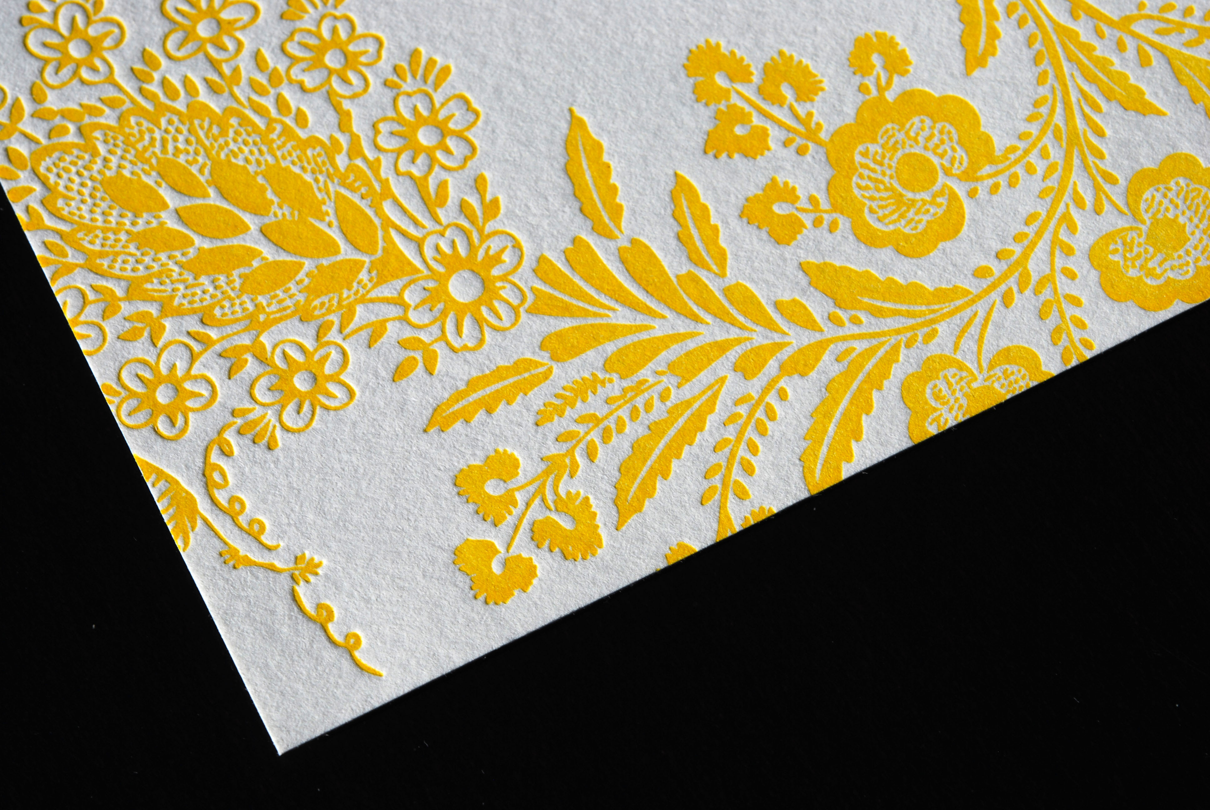 Stationery, yellow, gray, invitation, Modern, Classic, Classic Wedding Invitations, Modern Wedding Invitations, Invitations, Bouquet, Floral, Letterpress, Fresh, The aerialist press