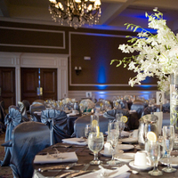 Reception, Flowers & Decor, Decor, white, blue, brown, Centerpieces, Flowers, Centerpiece, On, Linen, Mars, Manalo empire-photography