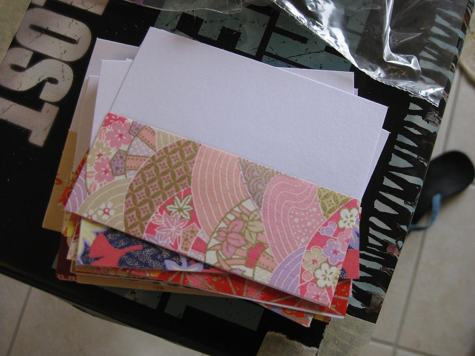 Stationery, Escort Cards