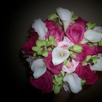 Flowers & Decor, white, pink, green, Bride Bouquets, Flowers, Bouquet, Brides