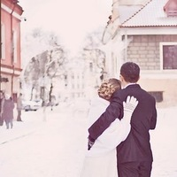 Inspiration, white, Winter, Bride, Groom, And, Board, Photos, The, In