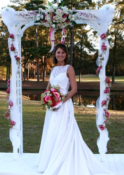 Ceremony, Reception, Flowers & Decor, white, yellow, orange, pink, red, purple, blue, green, brown, black, silver, gold, Ceremony Flowers, Flowers, Savannah event decor