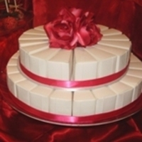 Favors & Gifts, Cakes, white, pink, red, cake, Favors, Edible, A taste of rubies