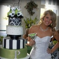 Cakes, black, cake, Damask, Cake goodness