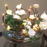 Reception, Flowers & Decor, white, Centerpieces, Centerpiece, Images, Google, Yahoo, Bella aeris, Lighted flowers, Light flowers, Battery operated flowers