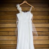 Wedding Dresses, Fashion, white, dress, Wedding, Chiffon, Organic, Sleigh custom dresses, Chiffon Wedding Dresses