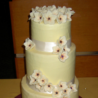 Cakes, white, pink, red, cake, Frangipani, Gobblin cakes