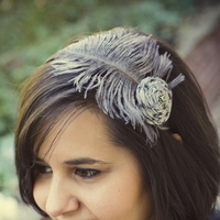 Beauty, Ceremony, Flowers & Decor, Bridesmaids, Bridesmaids Dresses, Veils, Fashion, silver, Veil, Hair, Accessory, Fascinator, Chaos couture bridal