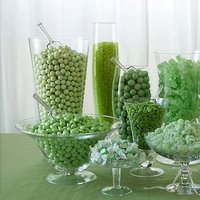 green, Candy, Buffet