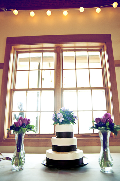 Reception, Flowers & Decor, Cakes, purple, cake, Wedding, Window, Sunshine, Backlit, Tier, Lavenda memory photography