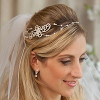 Beauty, Jewelry, Bridesmaids, Bridesmaids Dresses, Fashion, silver, gold, Tiaras, Hair, Headpieces, Wedding headbands, Angelas bridal boutique