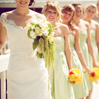 Bridesmaids, Bridesmaids Dresses, Fashion, blue, green, Summer, Bridge, Skies, Lavenda memory photography, Summer Wedding Dresses