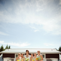 Bridesmaids, Bridesmaids Dresses, Fashion, green, Girls, Bridge, Lavenda memory photography