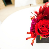 Flowers & Decor, red, Centerpieces, Flowers, Centerpiece, Fujikos flowers