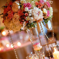Reception, Flowers & Decor, pink, Centerpieces, Flowers, Centerpiece, Tall