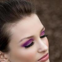 Beauty, Bridesmaids, Bridesmaids Dresses, Fashion, pink, purple, Makeup, Stephanie the makeup artist