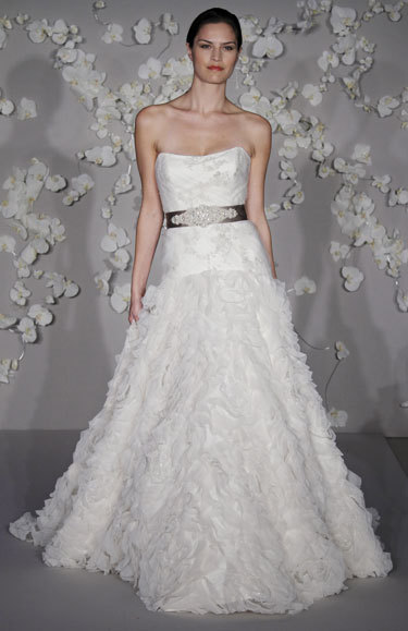 Wedding Dresses, Fashion, white, dress, Lazaro, Volles bridal and boutique