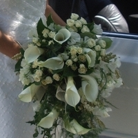 Ceremony, Inspiration, Reception, Flowers & Decor, Bridesmaids, Bridesmaids Dresses, Fashion, white, green, brown, black, silver, gold, Ceremony Flowers, Bride Bouquets, Bridesmaid Bouquets, Flowers, Bouquet, Board, Lily, Posy, Trailing, Arum, Romantica floral design, Flower Wedding Dresses