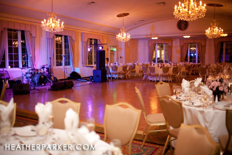 Reception, Flowers & Decor, white, yellow, orange, pink, red, purple, blue, brown, black, silver, Lighting, Hotel, Banquet, Room, Ball, Ballroom, Parker, Uplighting, Omni, The omni parker house hotel