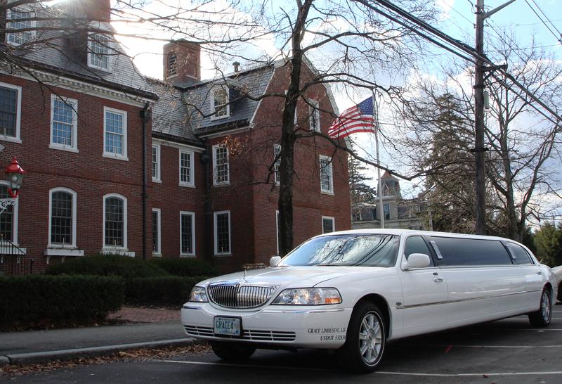 white, Limousine, Grace limousine