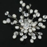 Jewelry, Bridesmaids, Bridesmaids Dresses, Fashion, Brooches, Brooch, Pearl, Pin, Funpearlscom, Paerl