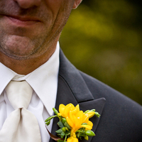 Flowers & Decor, yellow, Boutonnieres, Flowers, Boutonniere, Freesia, The blue orchid