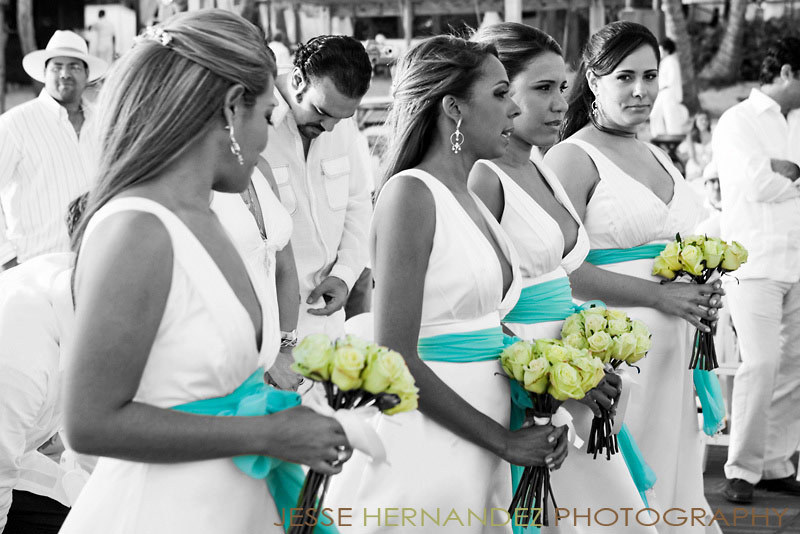 Ceremony, Reception, Flowers & Decor, Bridesmaids, Bridesmaids Dresses, Beach Wedding Dresses, Destinations, Fashion, white, yellow, blue, green, black, Caribbean, Beach, Ceremony Flowers, Bride Bouquets, Bridesmaid Bouquets, Bride, Outdoor, Flowers, Beach Wedding Flowers & Decor, Groom, Wedding, Destination, Photographer, La, House, Exotic, Marriage, Juan, Locations, En, Playa, Real, Dominican, Boda, Flower Wedding Dresses