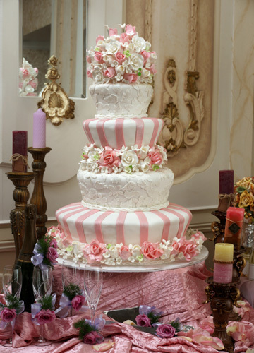 Flowers & Decor, Cakes, pink, green, cake, Spring, Floral Wedding Cakes, Garden Wedding Cakes, Vineyard Wedding Cakes, Flower