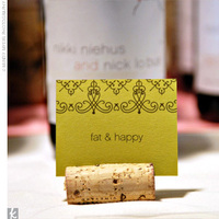 Reception, Flowers & Decor, Stationery, green, Place Cards, Table Numbers, Table Names, Wine themed