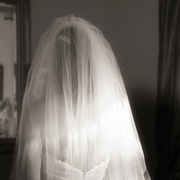 Beauty, Wedding Dresses, Veils, Fashion, white, silver, dress, Makeup, Bride, Veil, Hair, Jonathan smith studio