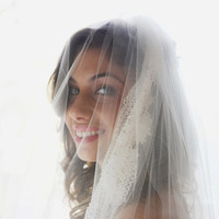 Beauty, Wedding Dresses, Veils, Fashion, white, silver, dress, Makeup, Bride, Portrait, Veil, Hair, Jonathan smith studio