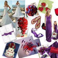 Inspiration, red, purple, Board