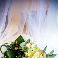 Flowers & Decor, blue, green, Bride Bouquets, Bride, Flowers, Bouquet, Orchid, Tiffany, Peacock