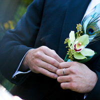 Flowers & Decor, green, Groomsmen, Flowers, Orchid, Groom