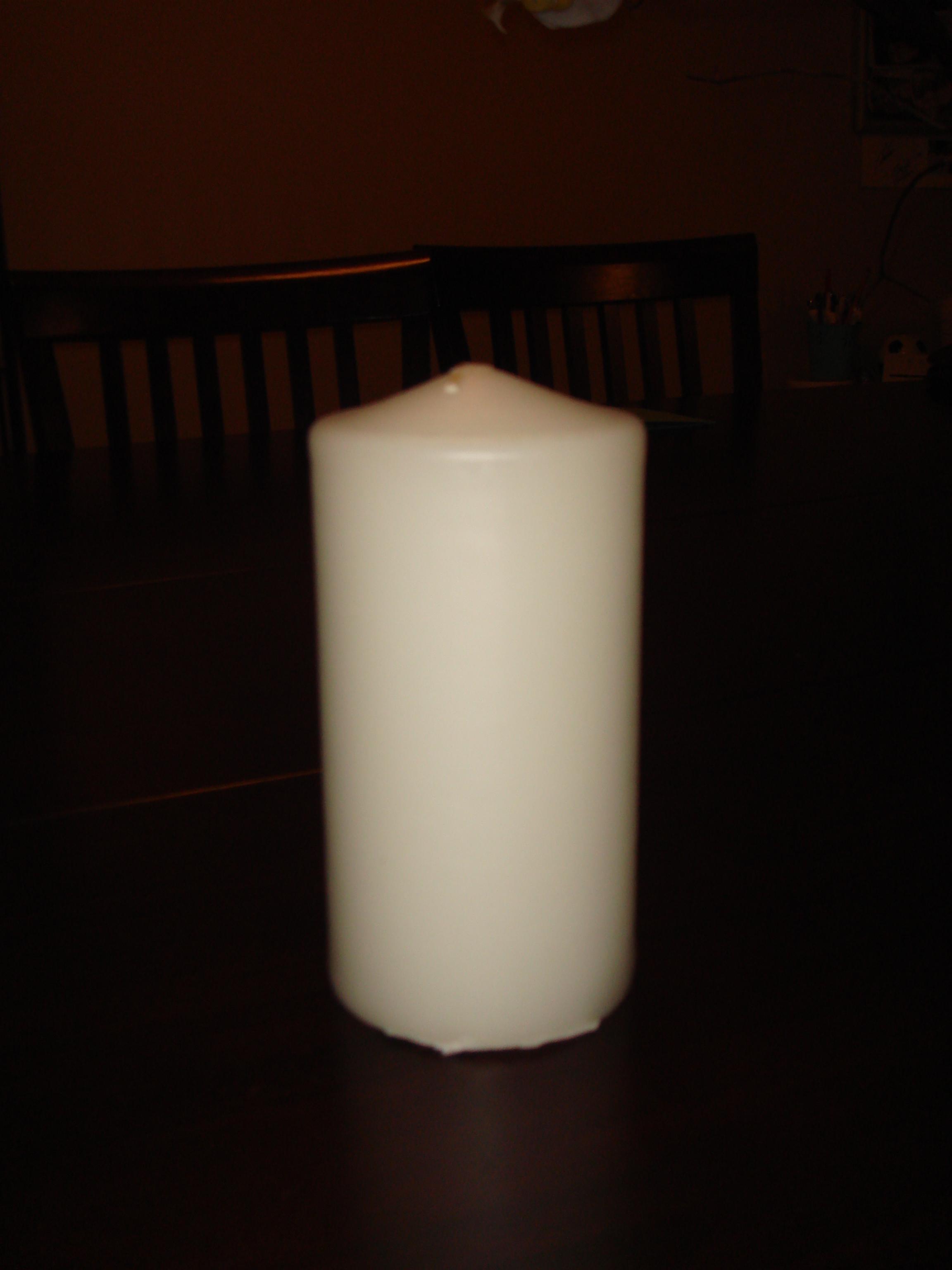 Candle, Pillar