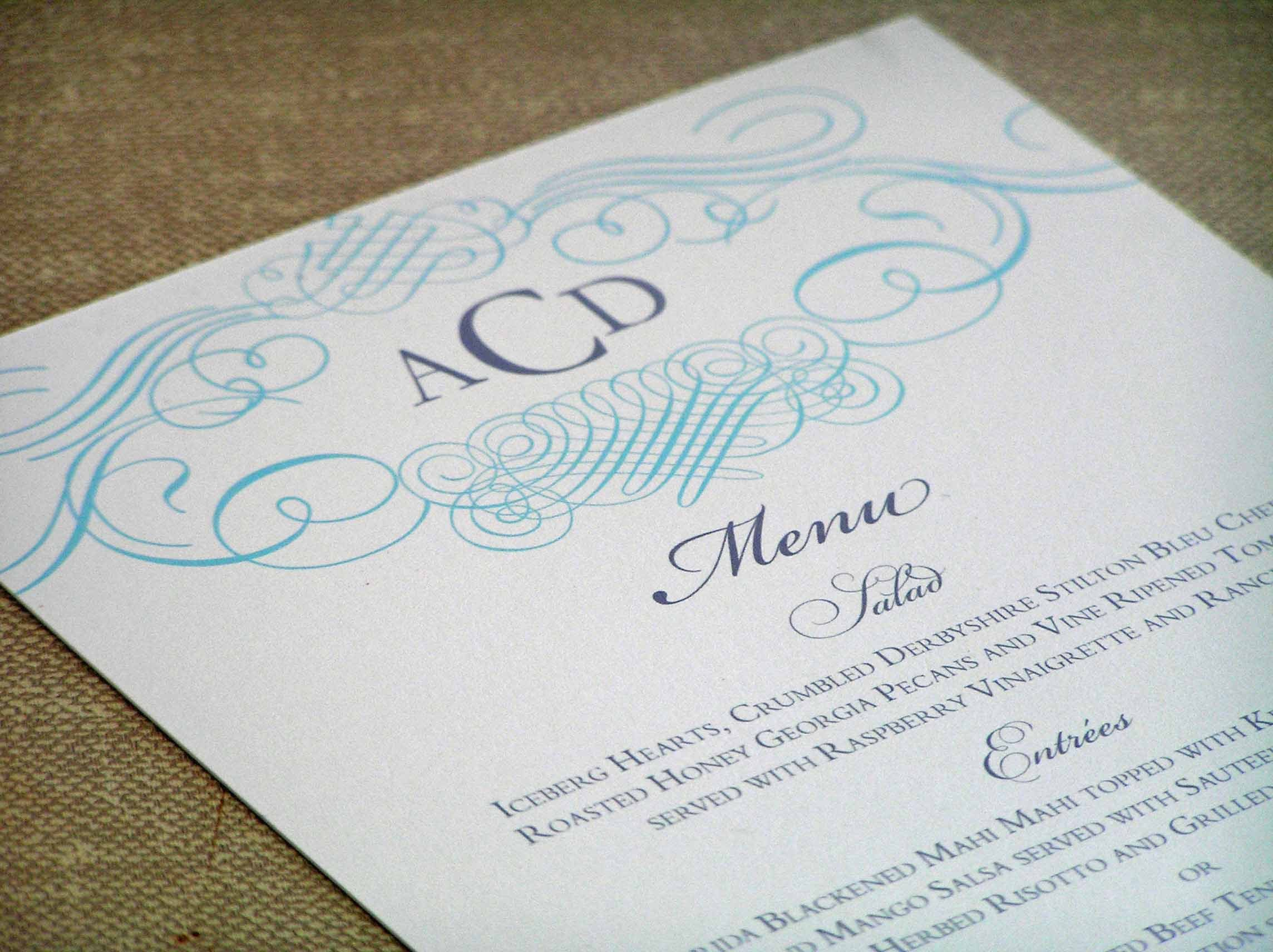 Inspiration, Calligraphy, Stationery, white, Invitations, Menu, Monogram, Board, 2bsquared designs