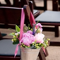 Flowers & Decor, Ceremony Flowers, Aisle Decor, Garden Wedding Flowers & Decor, Spring Wedding Flowers & Decor