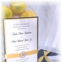 Classic Wedding Invitations, Glam Wedding Invitations, Impress me designs