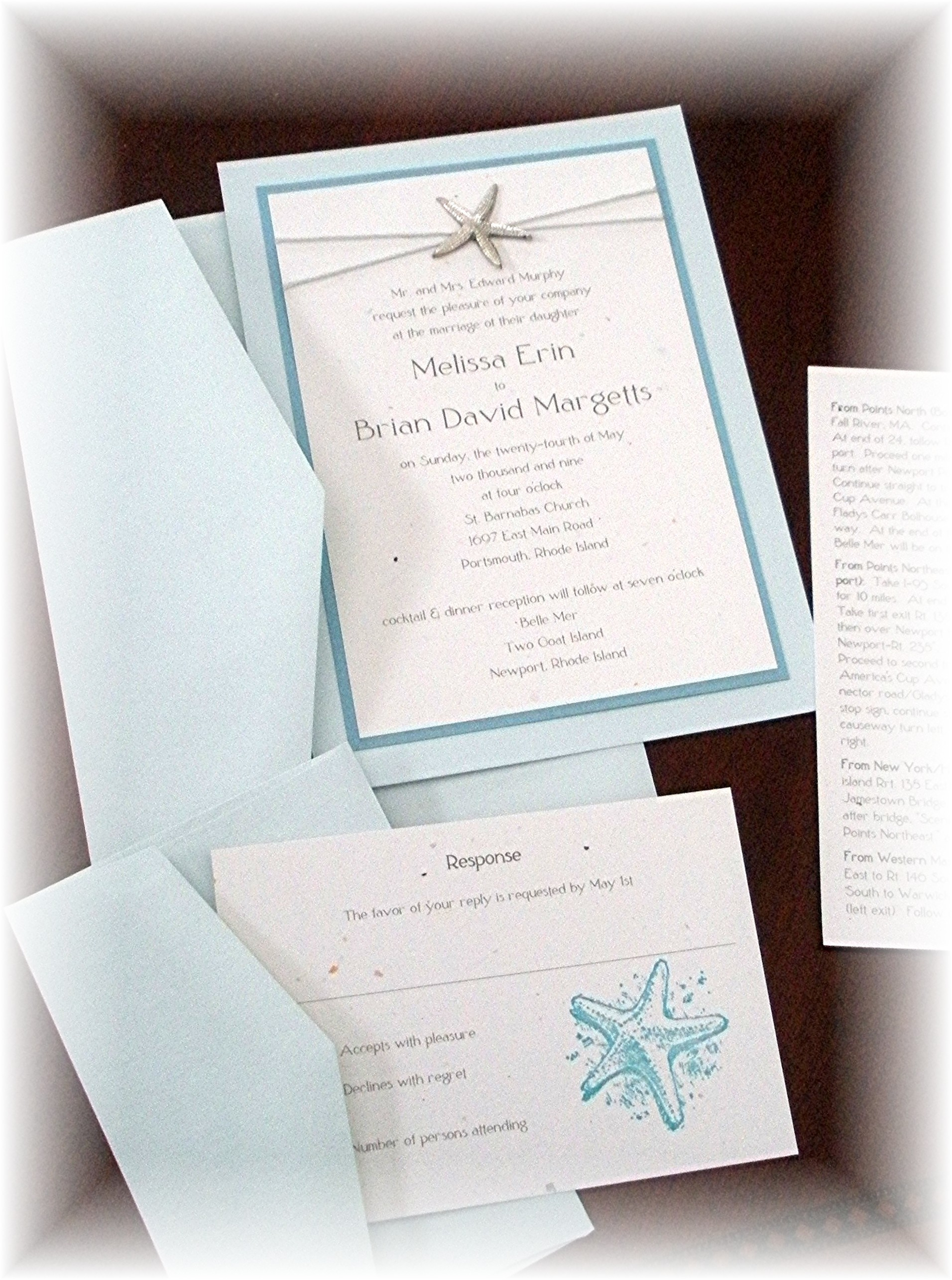 Stationery, white, blue, green, silver, Beach Wedding Invitations, Invitations, Impress me designs