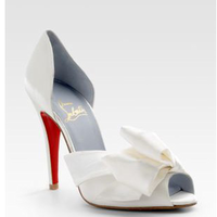Shoes, Fashion, white, Christian, Louboutin