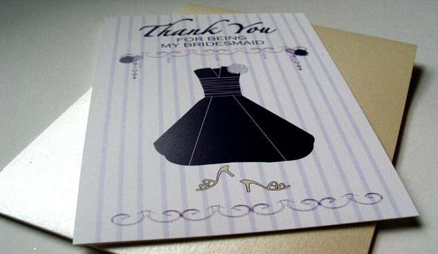 Bridesmaids, Bridesmaids Dresses, Stationery, Fashion, purple, black, Invitations
